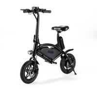 ingrosso batterie-Jetboard Jbolt-Blk Bolt Bicicletta elettrica pieghevole portatile Scooter-Ricaricabile a batteria Ebike-Conservare facilmente in armadio o bagagliaio per auto / SUV