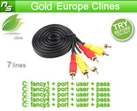 Wholesale CCcam Cline account for year validity for UK Germany Italy Spain support cccam receiver free trial
