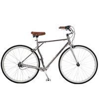 alüminyum yarış bisikletleri toptan satış-Sıcak Satış 700C Zincirsiz Yol Yarış Bisikleti, 3 - Dişli Mili Tahrik Retro Bisiklet, Alüminyum Alaşımlı Sert Çerçeve