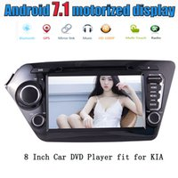 Wholesale Car Rio - EinCar Android 7.1 Quad Core 8'' Car Stereo Radio car DVD Player Headunit for KIA K2 2011-2012 GPS Navigation FM RDS Receiver