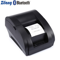 mini-impressora usb venda por atacado-Porto Zjiang 58 milímetros sem fio Bluetooth térmica Ticket Impressora de recibos Máquina de impressão USB para Mini Android Printer