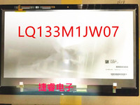 fhd ekranı toptan satış-Acer LQ133M1JW07 için 1920 * 1080 LCD Dokunmatik Ekran Digitizer Meclisi Matrix Meclisi FHD