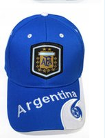 Wholesale world cup hats resale online - 2018 Fashion Russia World Cup ball caps for fans supplies Brazil Germany France Sports Cap Sun Hat Baseball Cap for men and women