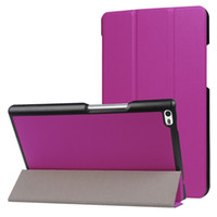 Wholesale tablet tab4 resale online - For Lenovo Tab F N Ultra thin PU Leather Stand Case For Lenovo Tab4 quot Flip Tablet Cover Protector
