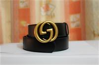 modèle homme chaud achat en gros de-Vente chaude nouveaux modèles G # Style ceintures hommes femmes Jeans ceintures Pour hommes Femmes Métal Ceintures Boucle avec la taille 105cm-125cm comme cadeau 88169