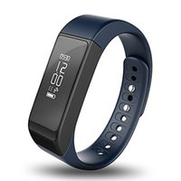 Wholesale calorie counter bracelet online - I5 Plus Bluetooth Smart Sports Bracelet Wireless Fitness Pedometer Activity Tracker with Steps Counter Sleep Monitoring Calories Track Hot