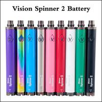 Wholesale vision spinner battery dhl for sale - Group buy Vision Spinner Battery mAh Adjustable Voltage Spinner II Thread For E cigarette Vape Pen DHL shipping
