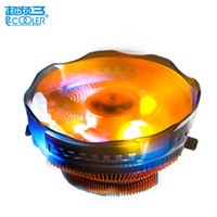 Wholesale intel 775 processors for sale - Group buy PcCooler mm LED pin cpu cooling fan PWM silent cpu cooler for AMD Intel cooling radiator quite