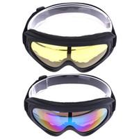 лыжи солнцезащитные очки глазные лыжи оптовых-Ветрозащитный УФ лыжный снег Сноуборд Googles мотоцикл тактический открытый езда на велосипеде солнцезащитные очки спортивные очки Eyewear Eye Protector