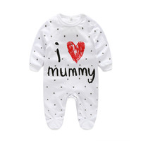Wholesale Pink Lin - kids rompers unisex Autumn Clothing New Pattern Long Sleeve Lin Tai clothes Baby bodysuit Ha. Newborn Crotch Crawling TideINS minions