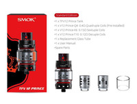 Wholesale accurate metals - TFV12 Prince Tank EU Edition 2ml with New Q4, X6 and T10 cores bring you intense clouds and accurate flavor