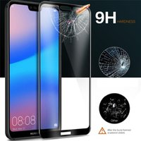 Printing Tempered Glass Hard Edge Screen Protector Proof Guard For Huawei P30 Lite P20 Pro Mate 20 X Y5 Y9 Nova 5 5i Honor 20i V20 9X 8A 8C