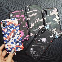Wholesale shock smartphone online – custom Classic Phone case for IPhone Pro X XS Max XR Pro Plus Smartphone Anti shock Cases Luxury Printing back Cover