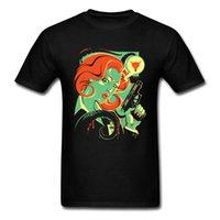 camisa da raposa mulheres venda por atacado-Onde São U Fox T-shirt Estilo Frio T Shirt Dos Homens Tshirt Preto Mulher Graffiti Tops Tees Cool Gunman Roupas Impresso Tecido De Algodão