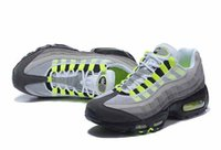 Wholesale Boots Wide - Men Running Shoes Sport 95 Men Retro Cushion Navy 95 OG Sport Air High-Quality Chaussure retro 95s Walking Boots Sneakers 40-46