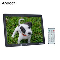 """Wholesale Digital Photo Wall - Andoer 15"""" Large Screen LED Digital Photo Frame Album Wall Mountable 1280 * 800 with Remote Control with Motion Detection Sensor"""