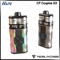 Wholesale couple kits resale online - Tesla CP Couples Kit W with Teslasigs CP COUPLES Mod Dual CP Couples RDTA Tanks Power by Dual Btteries Original