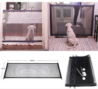 Wholesale wholesale safety gates for sale - Magic Gate Dog Pet Fences Portable Folding Safe Guard Indoor and Outdoor Protection Safety Magic Gate For Dogs Cat Pet Fences FFA1191