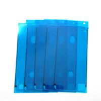 iphone schneidenaufkleber großhandel-Für iPhone X 8 8 Plus Front Gehäuse LCD Rahmen Aufkleber 3M Pre-Cut Waterproof Klebeband Kleber
