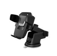4.4 handys großhandel-Autotelefonhalter 360 Grad Windschutzscheibe Smartphone Halter Ständer Halterung Handyhalter Halterung Für 4,4 inch-6,2 zoll GPS Halter