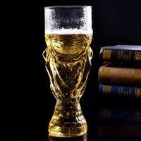 fanáticos del vino al por mayor-Fútbol creativo Copa de Vino Whisky Cerveza Hercules Copas 850 ML Copas de Vino Copa Para Party Club Para Fans Regalo