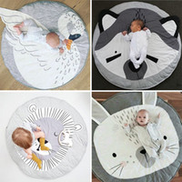 Tappeto per Bambini Giocattoli Storage Organizer Nursery Tappeti Grande cotone antiscivolo Cartoon Animal Baby Floor Mat Game Mat Area per la camera dei bambini Soggiorno