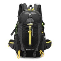 spor sırt çantası bisikleti toptan satış-40L Su Geçirmez Taktik Sırt Çantası Yürüyüş Çantası Bisiklet Tırmanma Sırt Çantası Laptop Sırt Çantası Seyahat Açık Çanta Erkek Kadın Spor Çantası