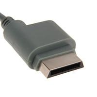 видеокабель scart оптовых-Горячая 1.8 м RGB Scart видео HD TV AV кабель для XBOX 360 версия высокого качества оптовые продажи