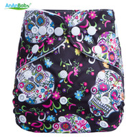 Wholesale diaper colorful for sale - Group buy 2016 New Design Colorful Prints Cloth Diaper Cover Reusable Nappies All In One Size Machine Washable Baby Nappy G Series
