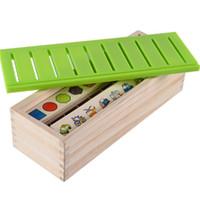 juego de madera jenga al por mayor-Números de animales Frutas Todo Tipo Bloques Juego de Aprendizaje Educativo de Juguetes de Niños Juguetes para Niños Juguetes de Navidad para Niños