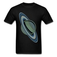 Wholesale Purple Planet - Men Spring T Shirt Planet With Rings Simple Space Star T-Shirts For Adult College Tshirt Custom Natural Cotton Fashion Tops