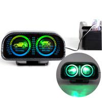 luzes off road para veículos venda por atacado-TYPER TR-9601 Car Auto Bússola ajustável Medidor de Inclinação Medidor de Terra com Luz LED Para SUV Off-Road veículo Guia bola