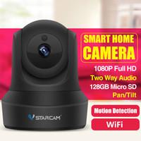 sistema de vigilância completo venda por atacado-TOP 1080 P 960 P Full HD Câmera IP Sem Fio CCTV Wi-fi Em Casa Sistema de Câmera de Segurança de Vigilância com iOS / Android Pan Tilt Zoom