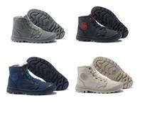 homens de botas de corte médio venda por atacado-pampa vender PALLADIUM quentes pufdie Lite alta corte wp com botas de pele do inverno outerdoor homens de inicialização de trabalho