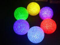 luz da noite de publicidade venda por atacado-7 cm colorido bola de cristal luzes da noite brinquedos quentes publicidade promocional atividades criativas luz presentes Novidade Iluminação