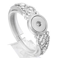10pcs Crystal Alloy Charm Ginger Snap Button For Noosa Necklace//Bracelet N730