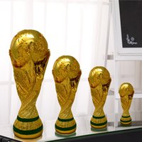 Wholesale New World Cup trophy for Russia World Cup trophy model football trophy fans souvenir