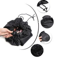 Wholesale makeup cases for sale - 9 Colors Vely Vely Cosmetic Bag Drawstring Large Capacity Portable Magic Travel Pouch Cosmetic Makeup Storage Bags FFA090