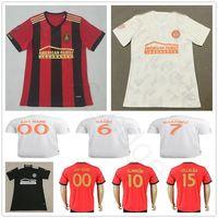 Wholesale man united shirt - 2018 Atlanta United FC Football Shirt ALMIRON 10 MCCANN 16 VILLALBA 15 MARTINEZ 7 GARZA JONES Home Red White Black Customize Soccer Jerseys