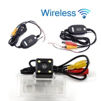 Wholesale car reverse parking camera wireless resale online - Wireless HD Car Rear View Camera For Nissan sylphy Parking Backup Reverse Camera Night Vision Waterproof