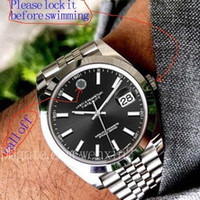 relógio super luminoso venda por atacado-13 Cores de Luxo Assista Datejust 41mm 2813 Automático Com Um Jubileu Banda Um Bracelete De Jubileu De Prata Super Luminosa Função Lisa Anel Exterior