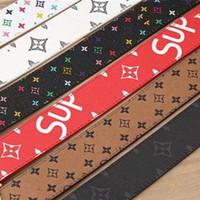 Wholesale Boys Cowboy Belt - New Men Designer Genuine Leather Belts High Quality Golden Horse Belt H Buckles luxury brand designer belt For Men Western Cowboy Cinturones