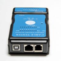 rj45 rj 45 venda por atacado-20 PCS Multi-Modular RJ-45 RJ-11 Rede LAN USB Cable Tester LAN Rede USB RJ45 Cat5 RJ11