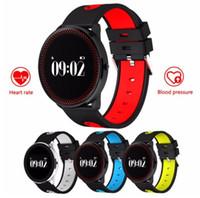 Wholesale x2 phone wholesale - X2 Smart Wristbands Fitness Tracker sport bluetooth band fitness bracelet Heart Rate Monitor IP68 Waterproof swimming Blood Pressure wristba