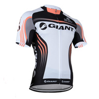 Wholesale xs model hot - 6 Models Giant Cycling Jerseys Short Sleeves Summer Cycling Shirts Cycling Clothes Bike Wear Comfortable Breathable Hot New Jerseys giant