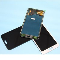 Wholesale galaxy s5 full online – For Samsung Galaxy S5 G900F G900 LCD display touch screen digitizer full can adjust the brightness