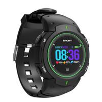 handy-uhr preise großhandel-F13 Wasserdichte Herzfrequenz Smart Watch Handy Begleiter Für Android Für IOS smart watch männer blutdruck wasserdicht spor