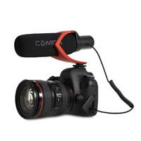micrófonos para cámaras al por mayor-Entrevista de fotografía CVM V30 para cámara DSLR Grabación de escopeta Protable Mic Mini Cool Micrófono Super antiinterferente