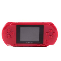 Wholesale pxp video resale online - 2 inch Portable Bit PXP3 Handheld Game Player Video Game Console with AV Cable Game Cards Classic Child Games PXP Slim Station