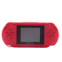 Wholesale classic card games for sale - Group buy Hot selling Portable Bit PXP3 Handheld Game Player Video Game Console with AV Cable Game Cards Classic Child Games PXP Slim Station